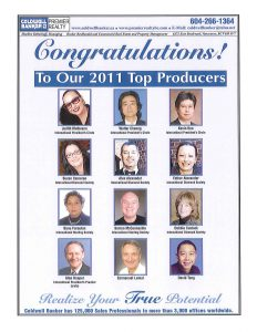 2011 Top Producers